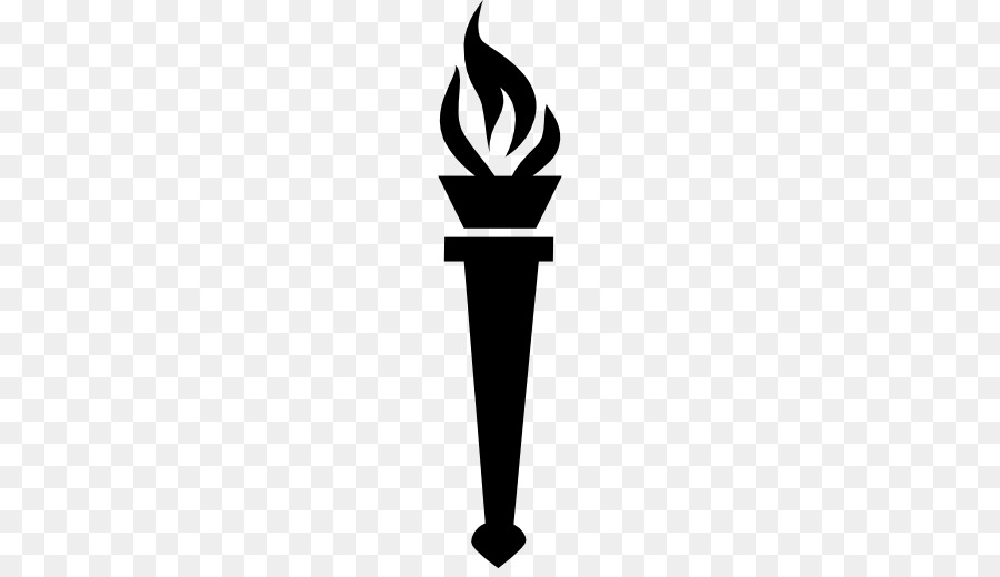 Fire drawing transparent clip. Torch clipart silhouette