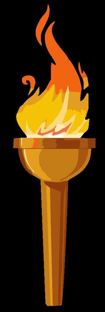 Torch clipart survivor. File svg wikimedia commons