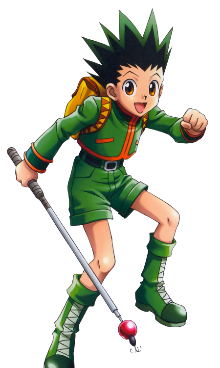 Torch clipart survivor. Gon freecss the convergence