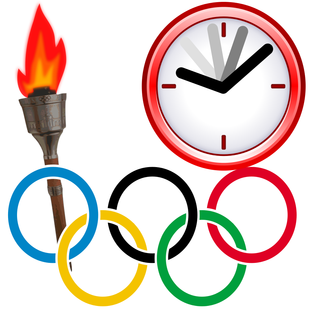 Torch clipart svg. File olympic current event
