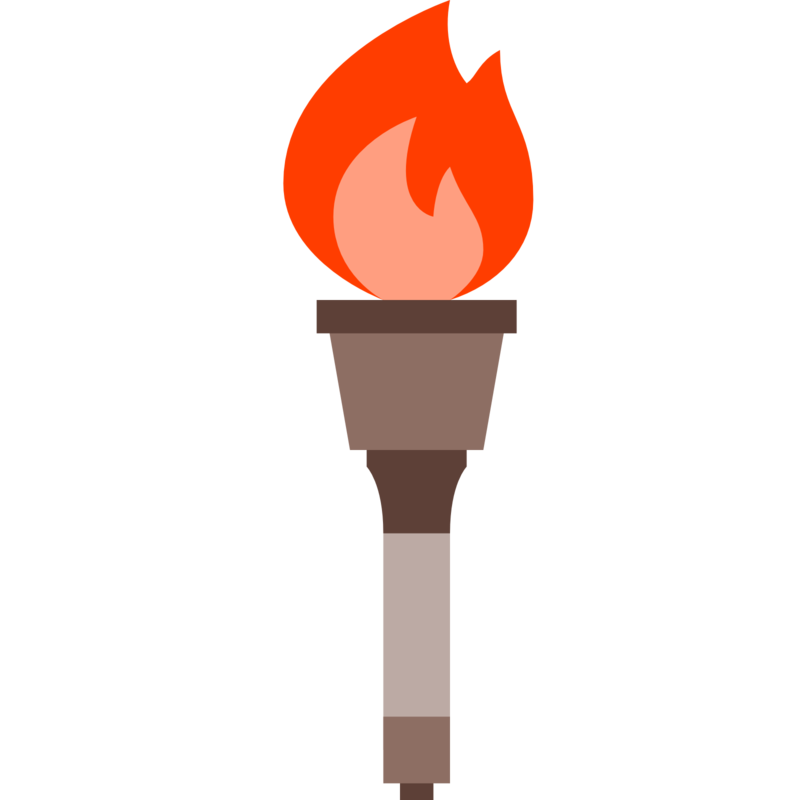 Download free png pin. Torch clipart symbol