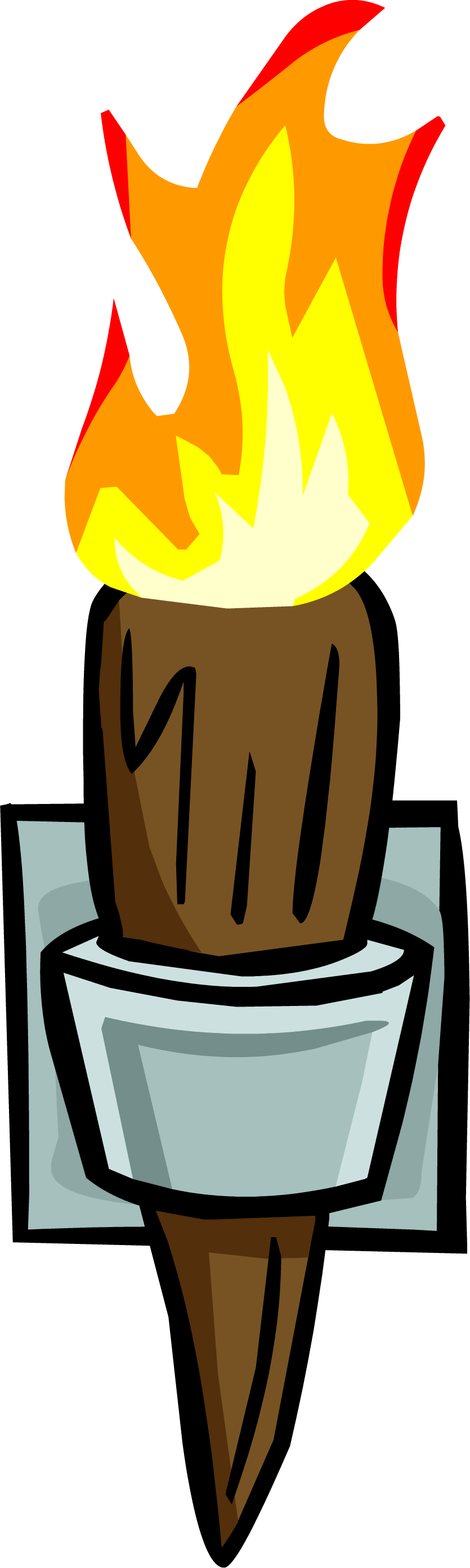 Torch clipart torch book. Image wall sprite png