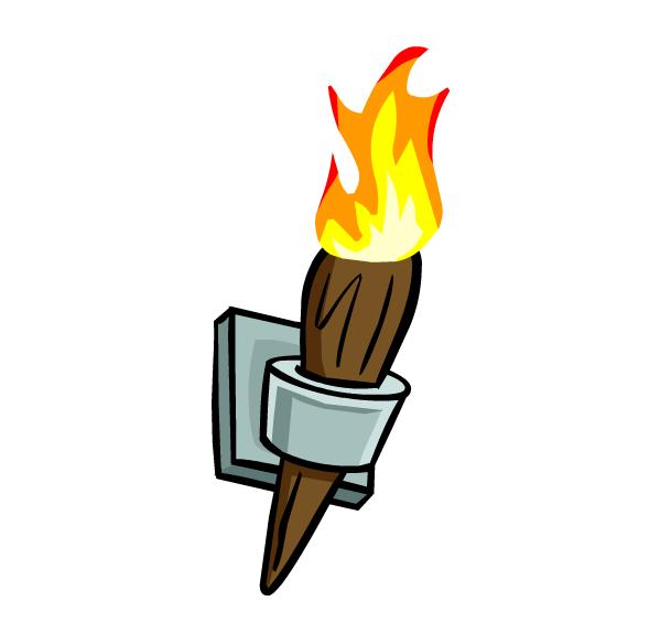 Torch wooden