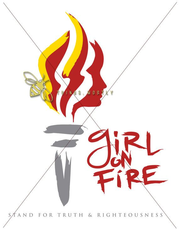 Yw girl on fire. Torch clipart youth lds