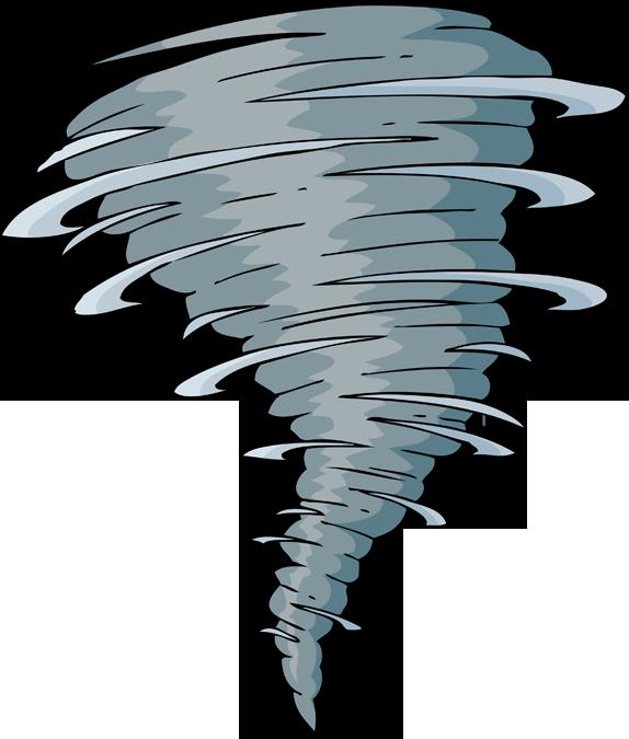 Tornado . Lamp clipart hariken
