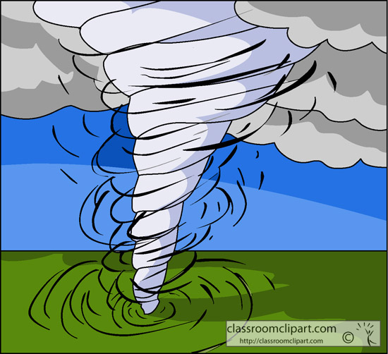 Tornado clipart. Driving in