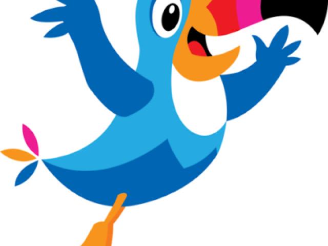 Free download clip art. Toucan clipart blue