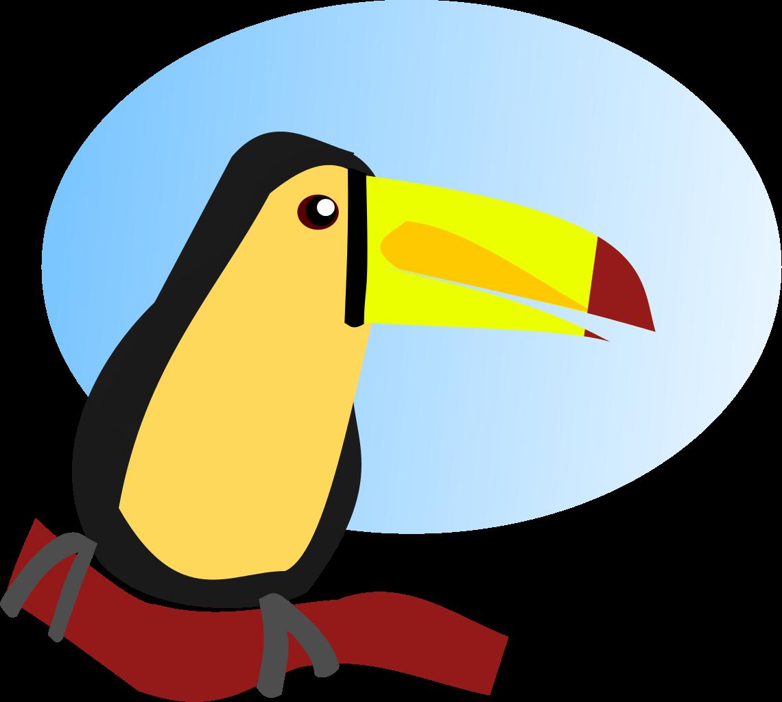 File cartoon svg wikipedia. Toucan clipart blue