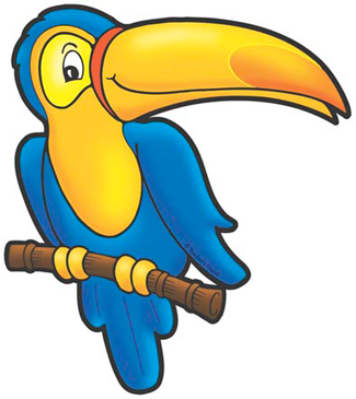 Toucan clipart blue. Printable clip art and