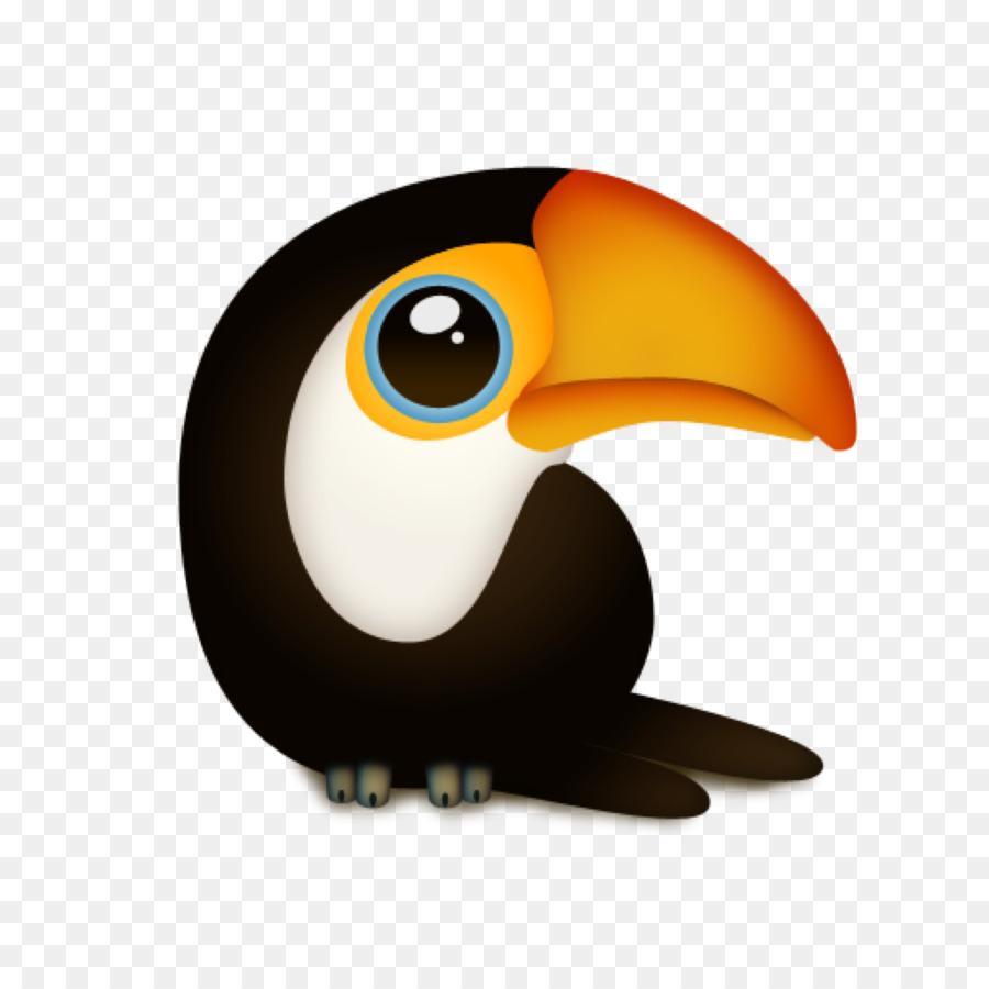 Toucan clipart kawaii. Penguin cartoon png download