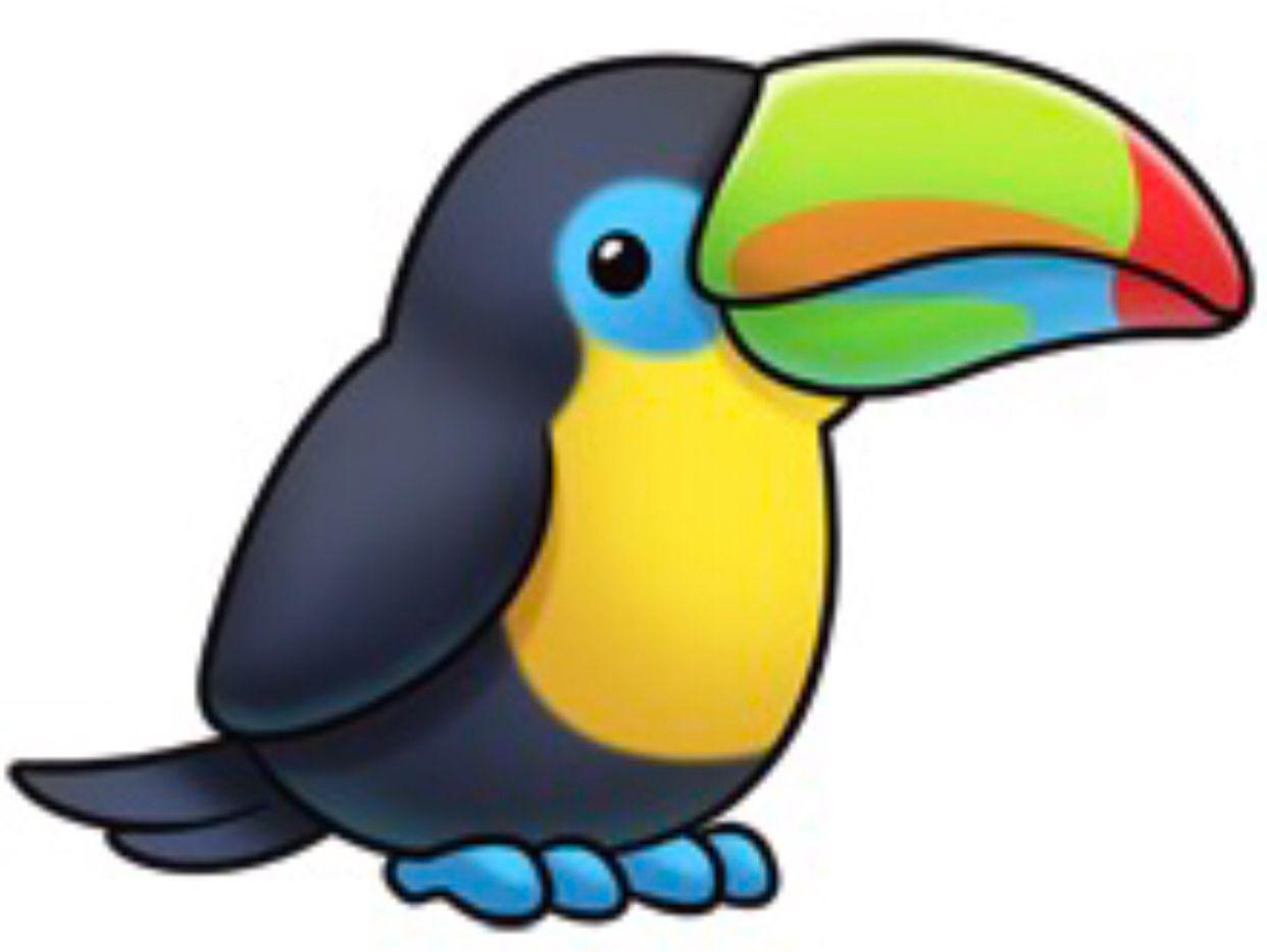 Toucan clipart kid. Cute animal drawings
