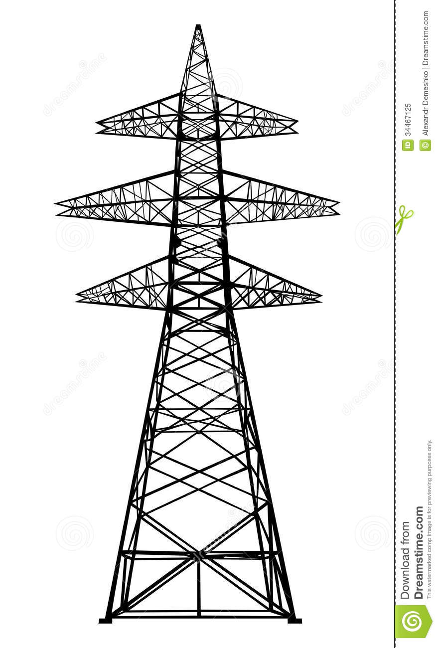 Tower clipart. Transmission