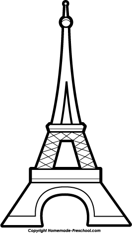 Free eiffel ready for. Tower clipart