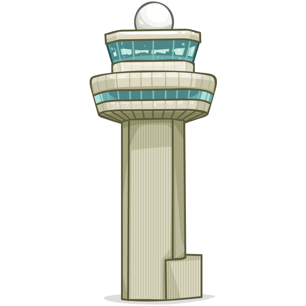 Tower clipart airplane.  collection of air