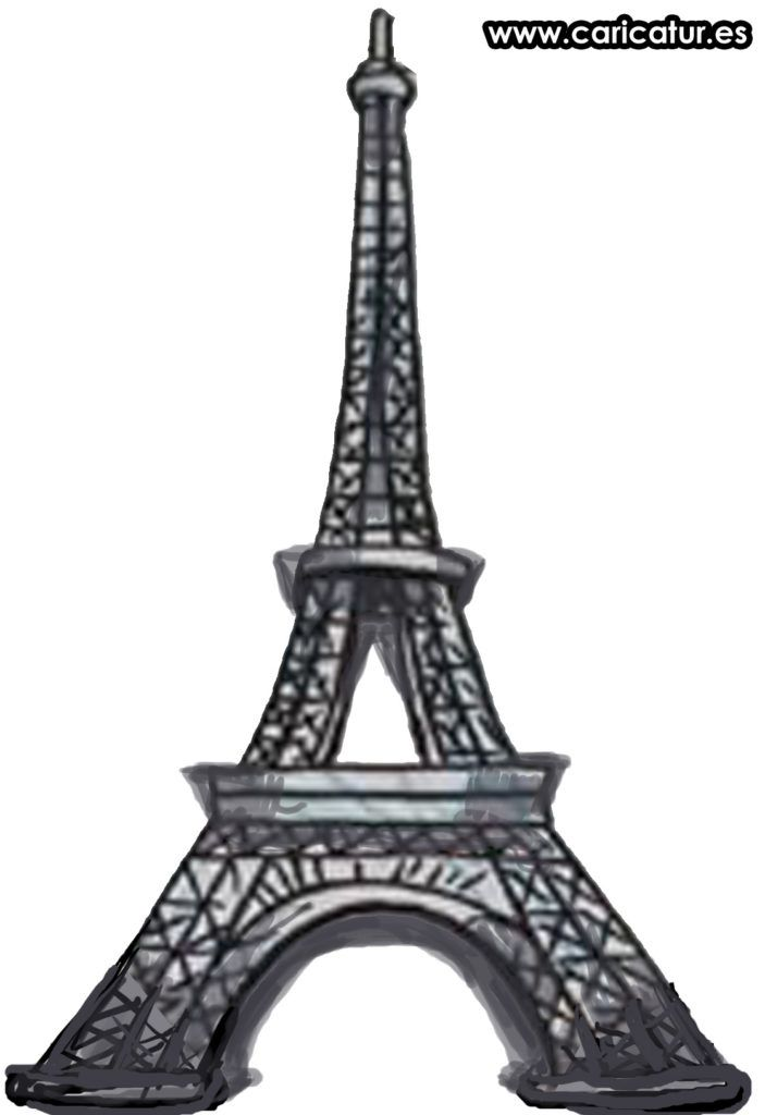Eiffel free of the. Tower clipart cartoon