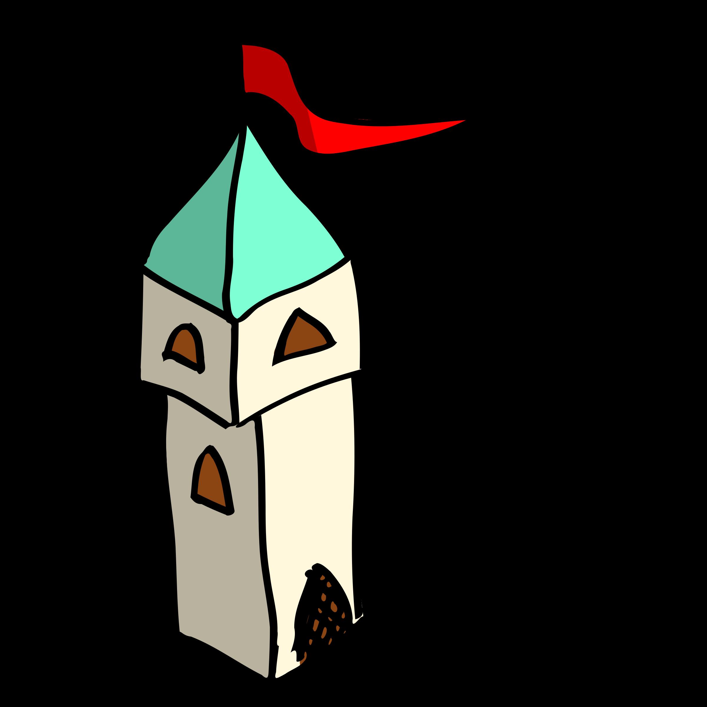 Tower clipart cartoon. Rpg map symbols big