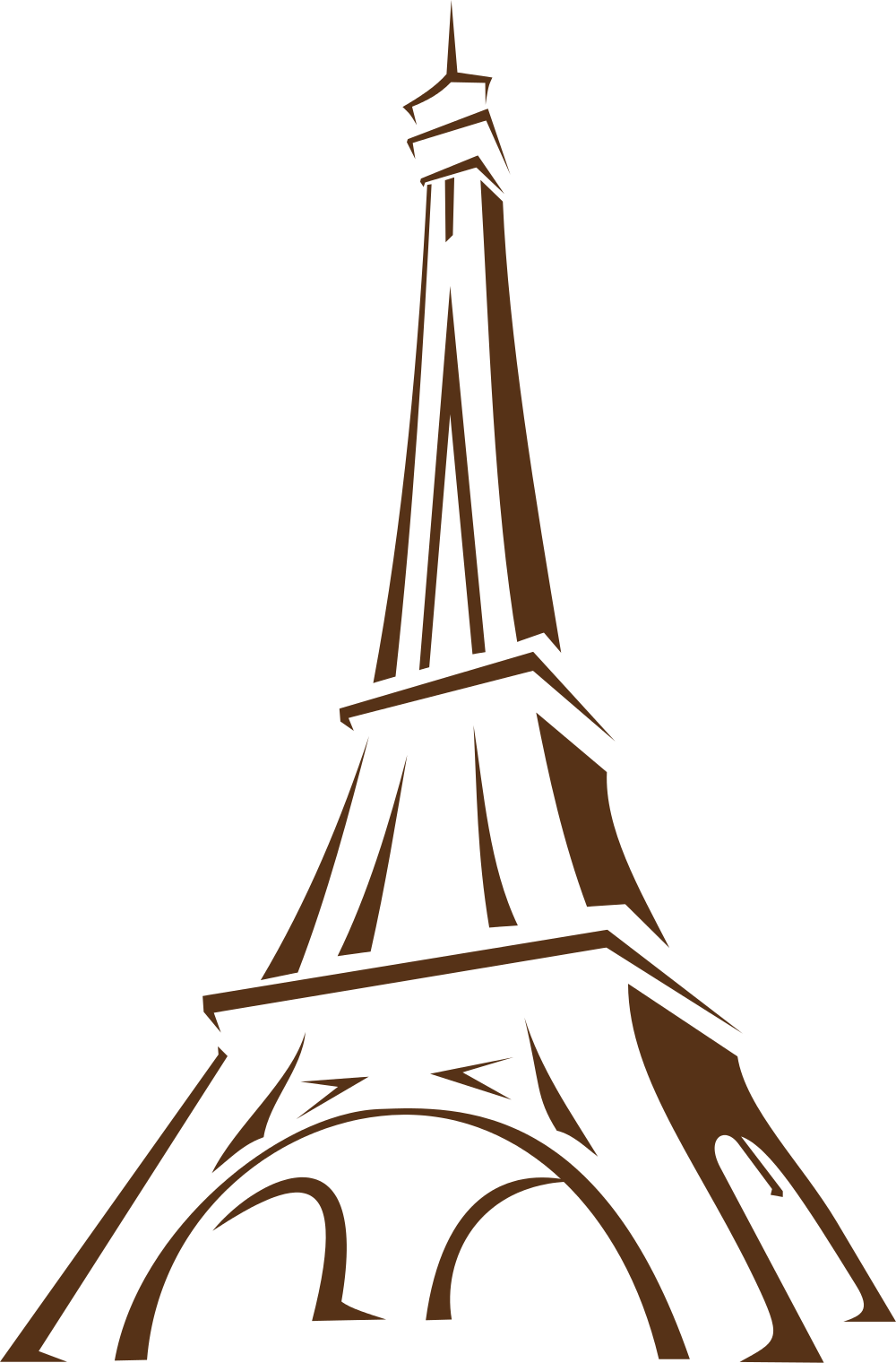 Tower clipart cut out. Eiffel at getdrawings com