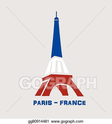 Tower clipart logo. Vector eiffel paris france