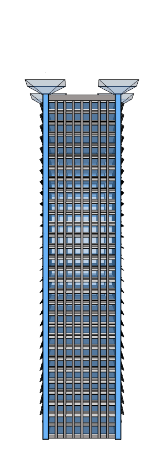 Home garden and skyscraper. Tower clipart power tower