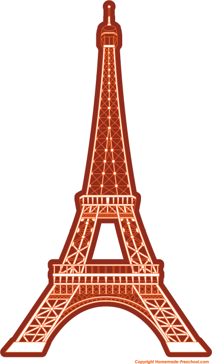 Free eiffel . Tower clipart project