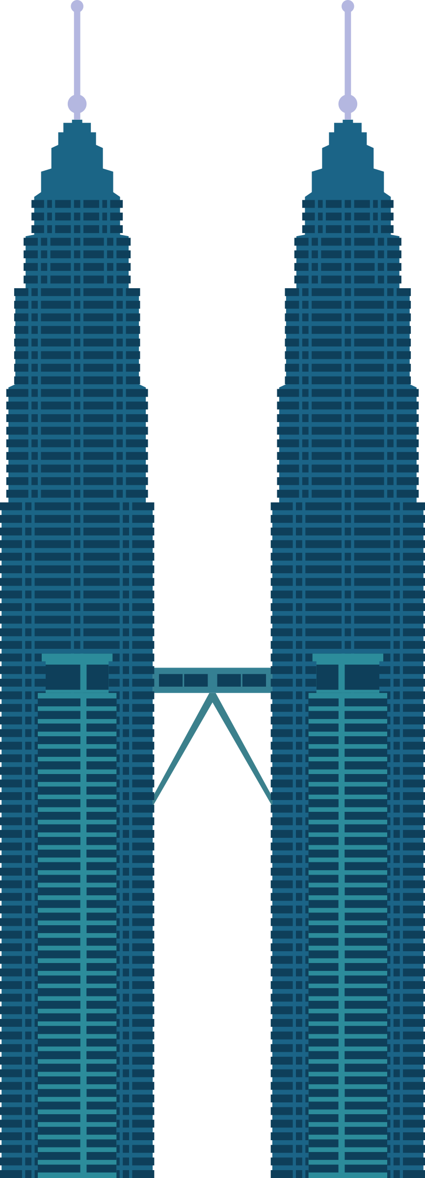 Tower clipart svg. Petronas twin towers icons
