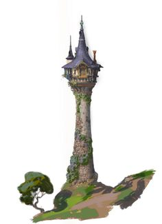 best castle images. Tower clipart tangled tower