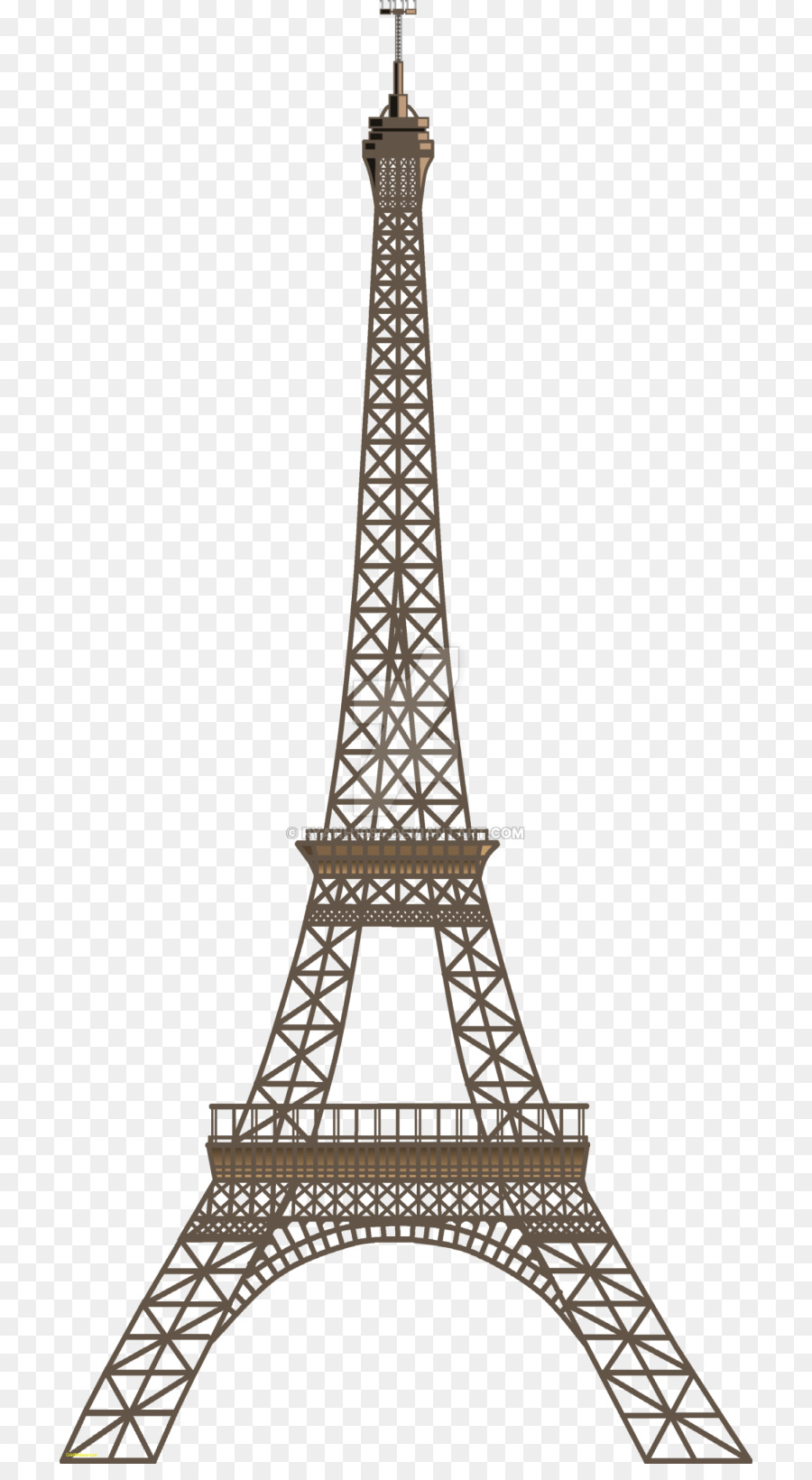 Tower clipart tower paris. Eiffel station