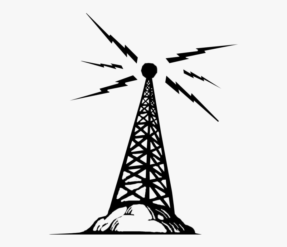 Telecommunications clip art radio. Tower clipart towers telecom
