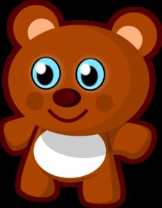 Toy clipart. Little bear clip art