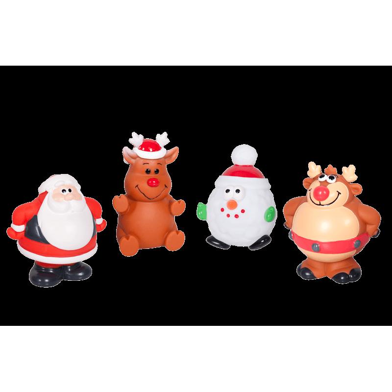 Christmas vinyl dog . Toy clipart pet toy