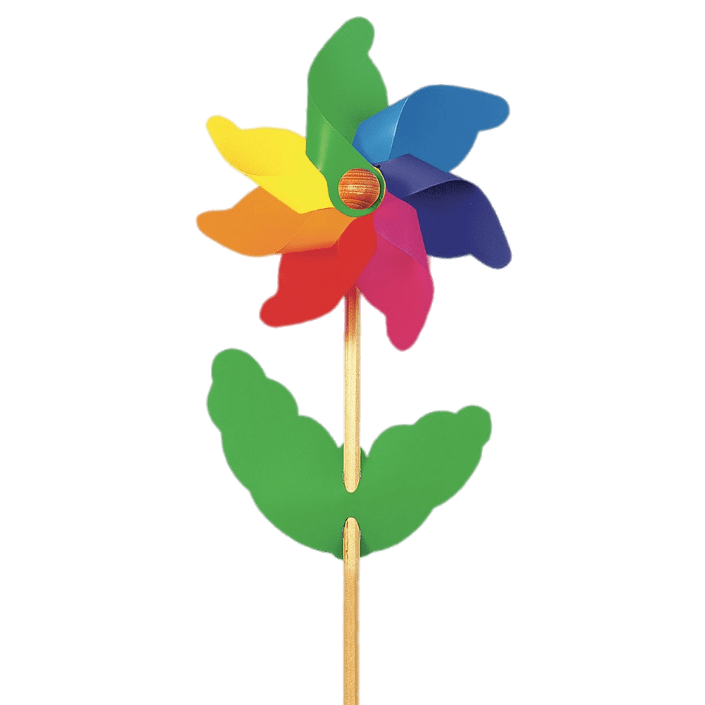 Wheel clipart windmill. Flower toy transparent png