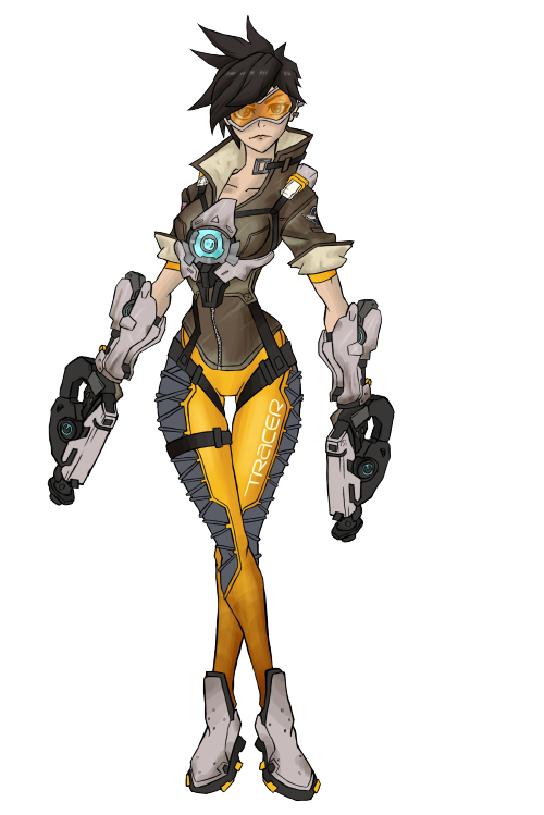 Serious . Tracer overwatch png