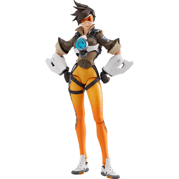 Figma figurine eb games. Tracer overwatch png