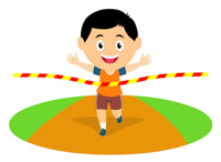 Race clipart track and field. Sports free to download