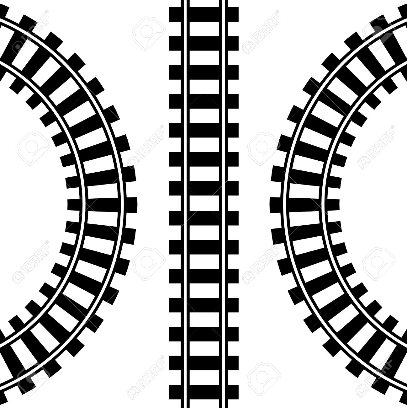 Fresh train tracks gallery. Track clipart