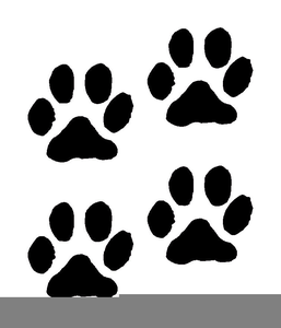 Tracks free images at. Track clipart cat