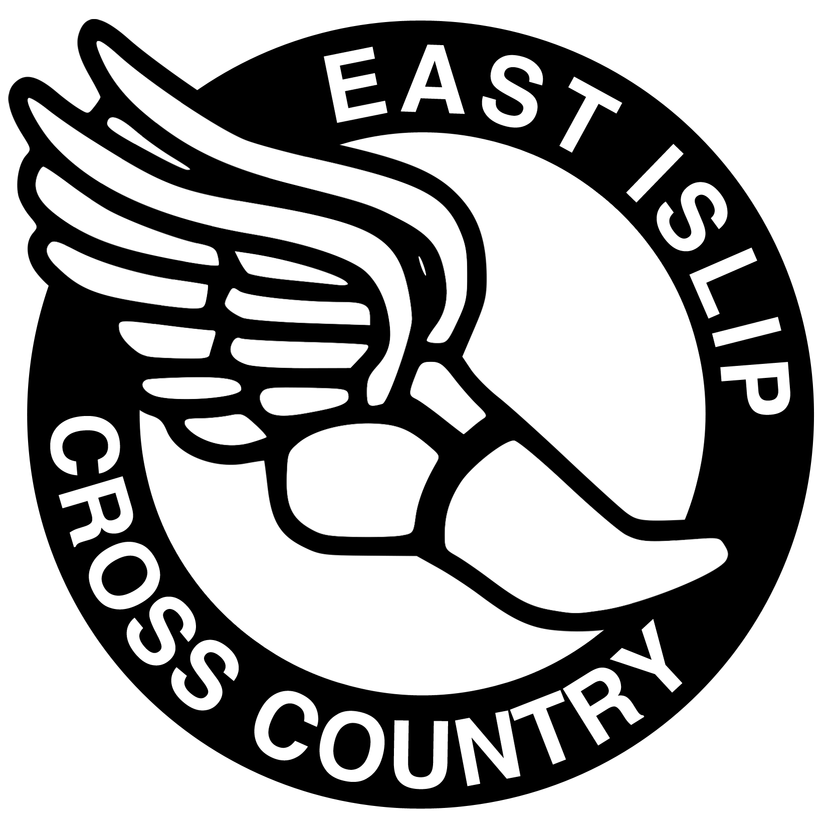 Running symbol free download. Track clipart cross country