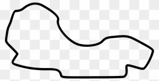 Track clipart outline. Big image melbourne f