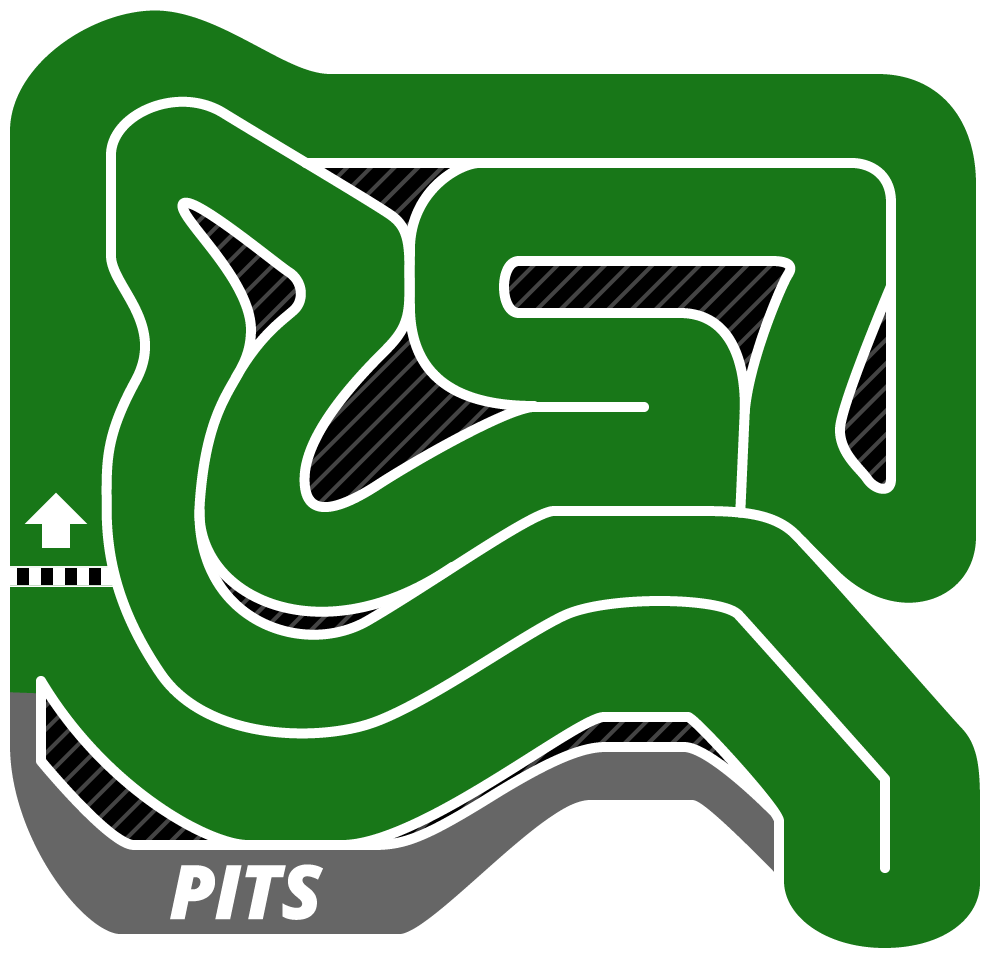 Track clipart racing track. Go kart with the