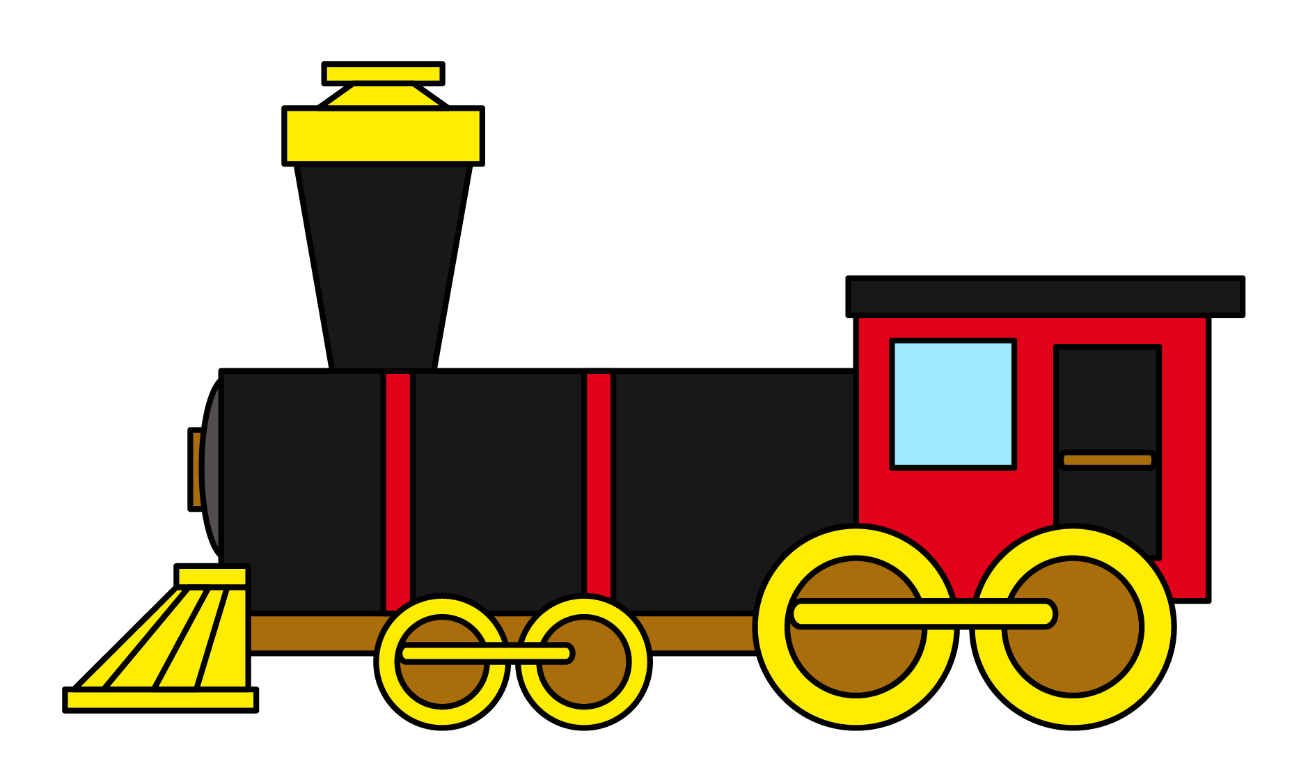 Track clipart rail track. Train for kids at