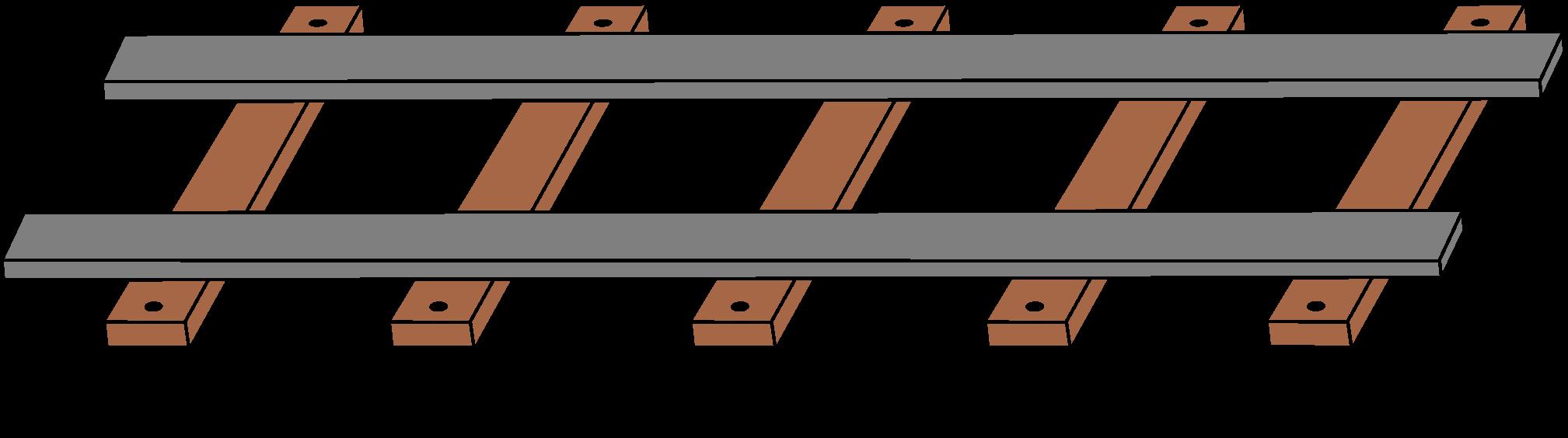 Image train tracks png. Track clipart rail track
