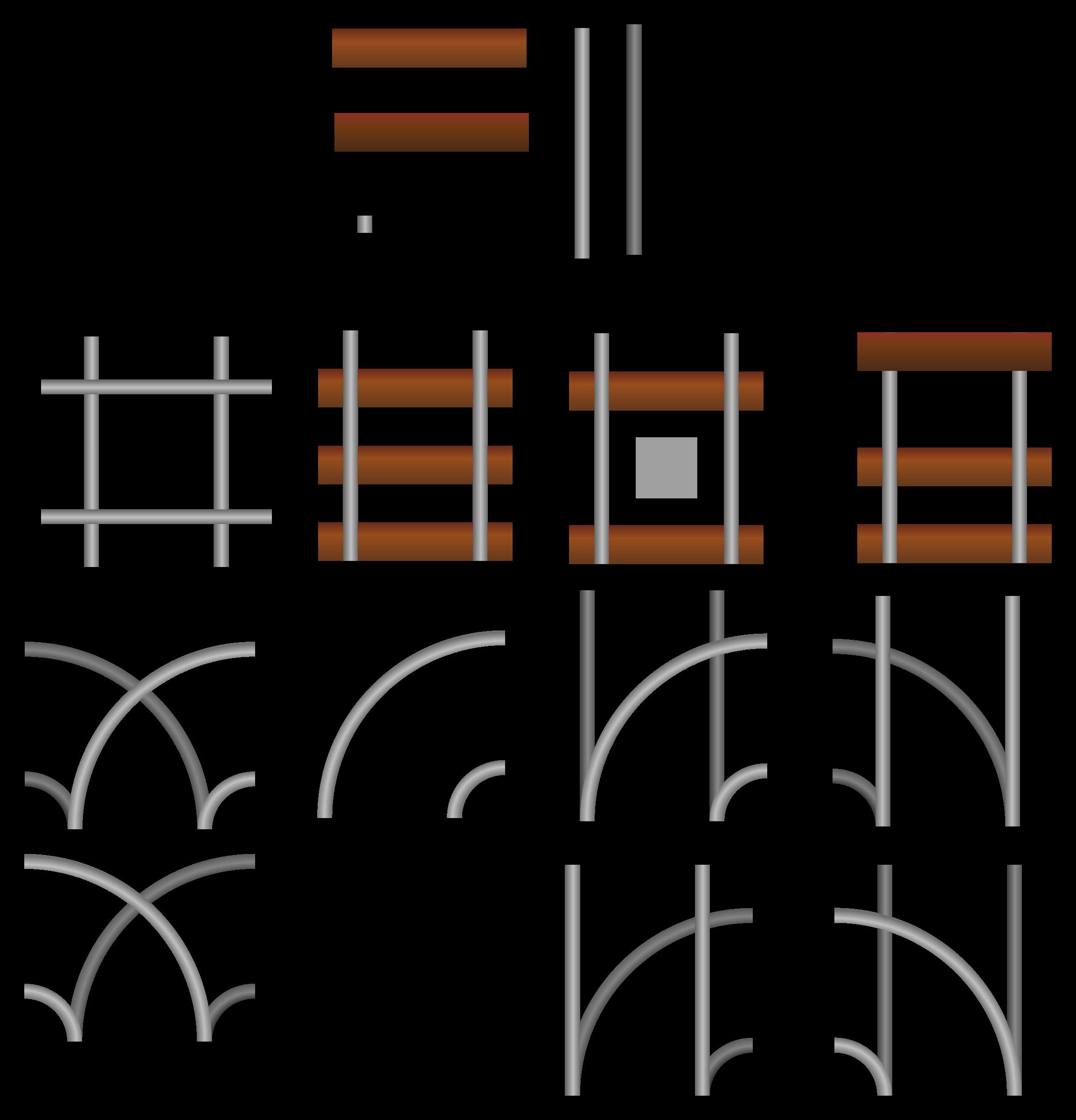 Track clipart railroad. Tiles big image png