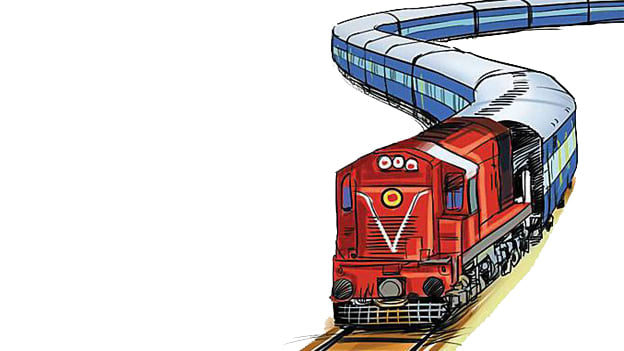 News railways to focus. Track clipart railway indian track