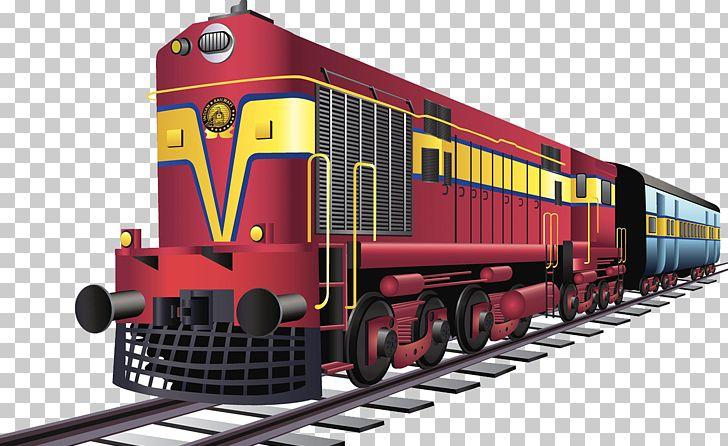 Track clipart railway indian track. Rail transport train railways