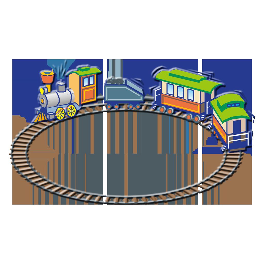 Rail transport railway transprent. Track clipart toy train