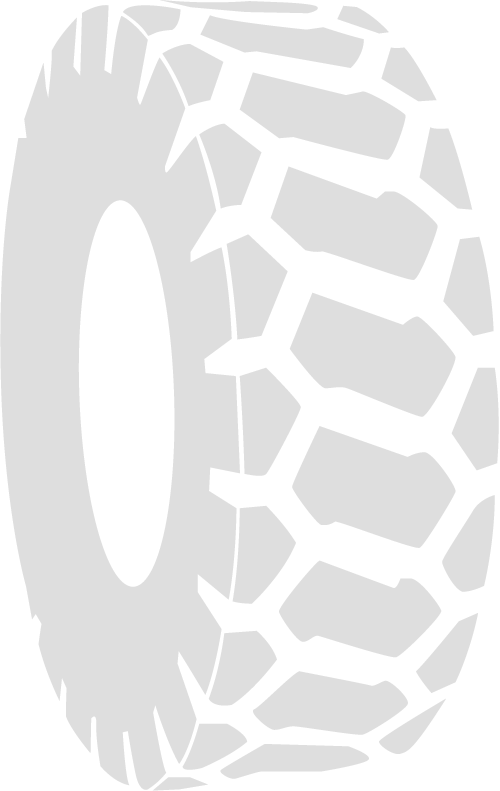 Construction otr tires for. Track clipart truck tire track