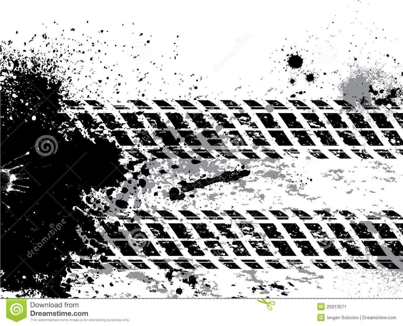 Monster tracks clip art. Track clipart truck tire track