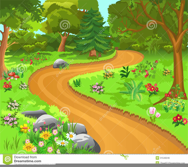 Trail clipart. Dirt free images at