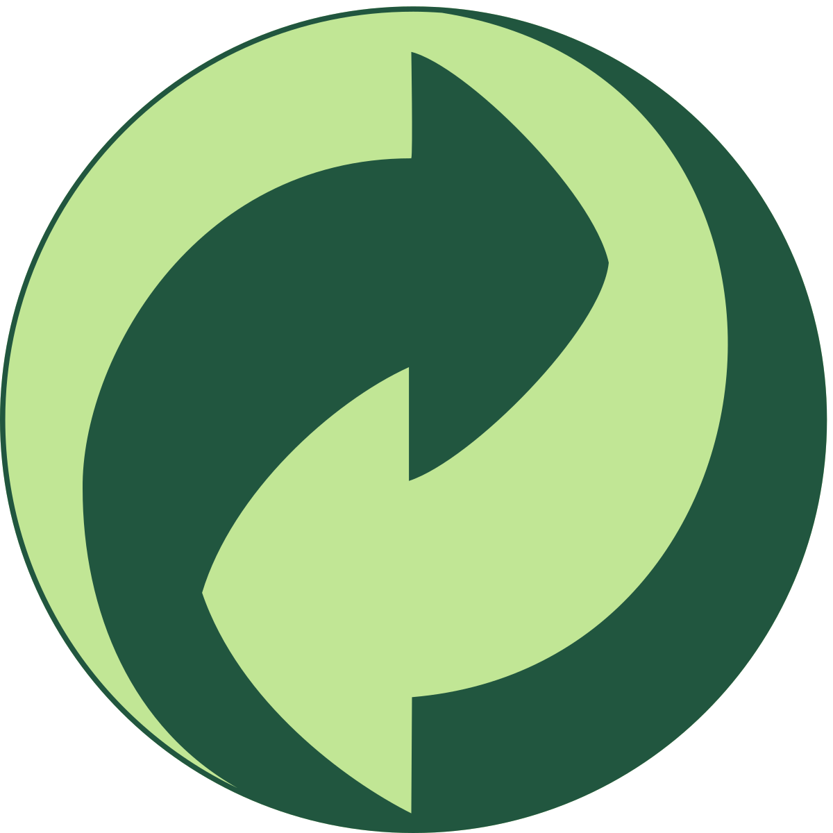 Green symbol images meaning. Trail clipart line dot
