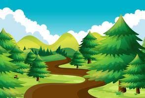 Hiking free vector art. Trail clipart nature hike